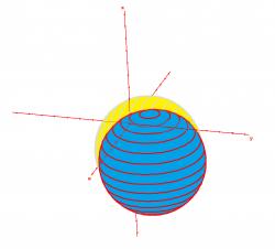 Intersectionde deux spheres3